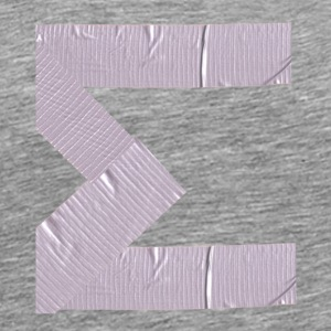 Sigma in duct tape - Men's Premium T-Shirt
