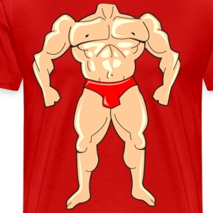 Mighty Muscle Man - Men's Premium T-Shirt