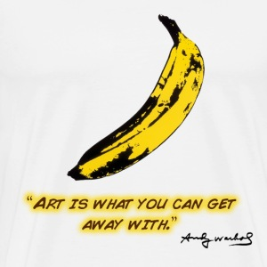 Getting away with Art. - Men's Premium T-Shirt