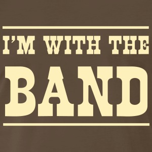 I'm with the band T-Shirts - Men's Premium T-Shirt