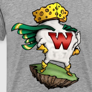 THE AMAZING WISCONSIN-MAN T-Shirts - Men's Premium T-Shirt