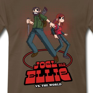 Joe and Ellie VS. the World - Men's Premium T-Shirt
