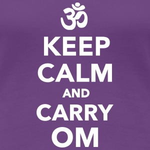 Keep calm and carry om Women's T-Shirts - Women's Premium T-Shirt