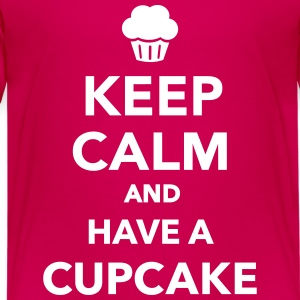 Keep calm and have Cupcake Kids' Shirts - Kids' Premium T-Shirt