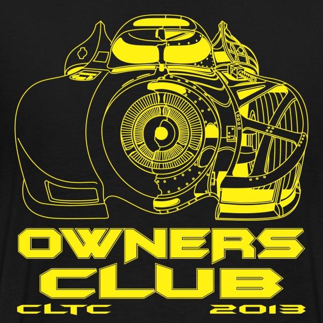 Yellow Owners HW Back Gildan