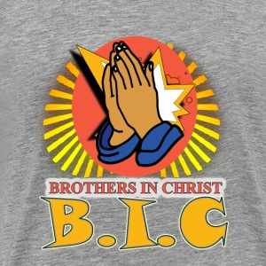 Brothers In Christ T-Shirts - Men's Premium T-Shirt