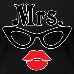 Mrs. Nerd - Women's Premium T-Shirt