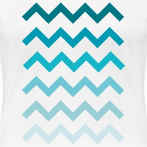 Waves  Women's T-Shirts - Women's Premium T-Shirt