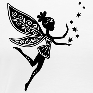 fairy, pixie, elf, star, magic, witchcraft, summer Women's T-Shirts - Women's Premium T-Shirt