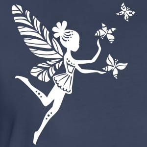 fairy, pixie, magic, butterfly, summer, fantasy Women's T-Shirts - Women's Premium T-Shirt