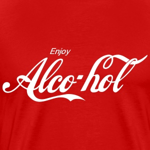 enjoy Alcohol Shirt - Men's Premium T-Shirt