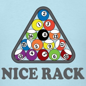 Billiards. Nice Rack T-Shirts - Men's T-Shirt