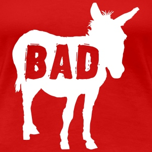 Bad Ass Donkey Women's T-Shirts - Women's Premium T-Shirt