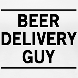 Beer Delivery Guy Women's T-Shirts - Women's Premium T-Shirt