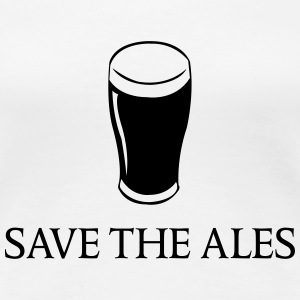 Save the Ales Women's T-Shirts - Women's Premium T-Shirt