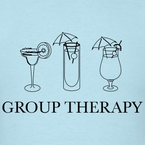 Alcohol. Group Therapy T-Shirts - Men's T-Shirt