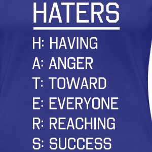 Haters Defined Women's T-Shirts - Women's Premium T-Shirt