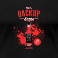 Design ~ Backup Sauce (Fitted) [F]