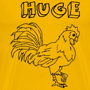 Huge Cock T-Shirts - Men's Premium T-Shirt