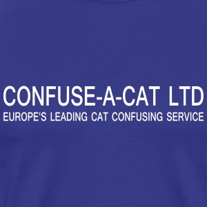 confuse_a_cat vector T-Shirts - Men's Premium T-Shirt