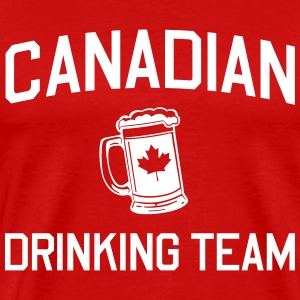 Canadian Drinking Team T-Shirts - Men's Premium T-Shirt
