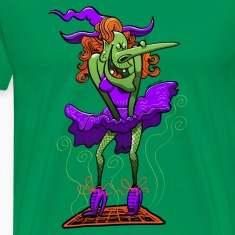 Halloween Sexy Witch T-Shirts