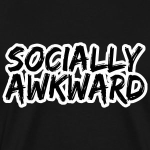 Socially Awkward T-Shirts - Men's Premium T-Shirt