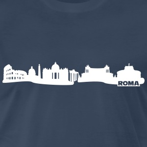 Rome skyline Shirt - Men's Premium T-Shirt
