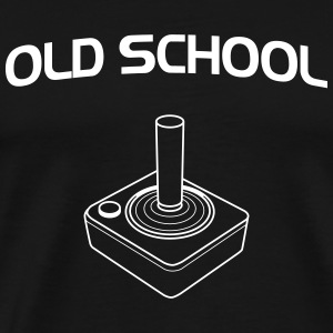 Old School Gamer T-Shirts - Men's Premium T-Shirt