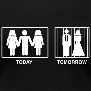 Today Player Tomorrow Married in Jail Women's T-Shirts - Women's Premium T-Shirt