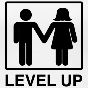 Level Up Marriage Couple Women's T-Shirts - Women's Premium T-Shirt