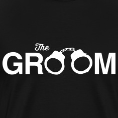 The Groom Handcuffs T-Shirts