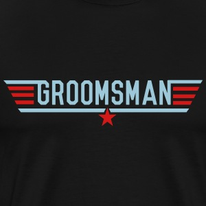 Top Groomsman T-Shirts - Men's Premium T-Shirt