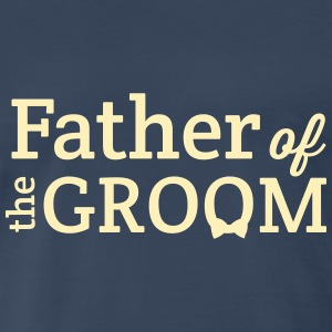 Father of the Groom T-Shirts - Men's Premium T-Shirt
