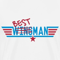 Best Man - Ex-Wingman T-Shirts