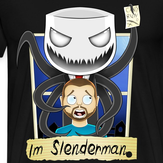 Chilled is Slenderman (Heavy T-Shirt)