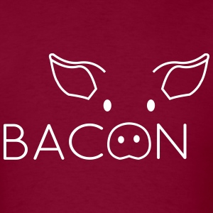 Bacon Pig Face T-Shirts - Men's T-Shirt