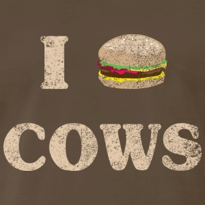 I Hamburger Cows T-Shirts - Men's Premium T-Shirt