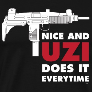 UZI Submachine Gun T-Shirts - Men's Premium T-Shirt