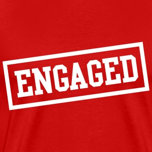 Engaged box T-Shirts - Men's Premium T-Shirt