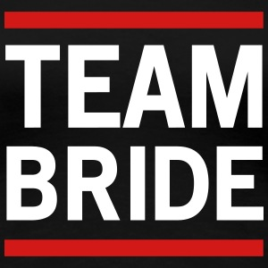 Team Bride Lined Women's T-Shirts - Women's Premium T-Shirt