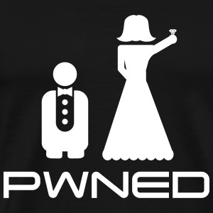 Marriage Pwned T-Shirts - Men's Premium T-Shirt