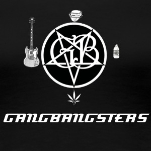 Gangbangsters Female T-Shirt - Women's Premium T-Shirt