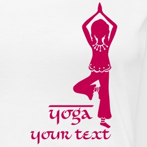 Yoga Girl, Tree, asana, yoga teachers, meditation Women's T-Shirts - Women's Premium T-Shirt
