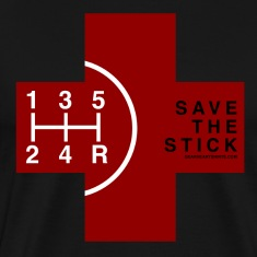 Save the Stick - Red Cross - 5 Speed T-Shirts