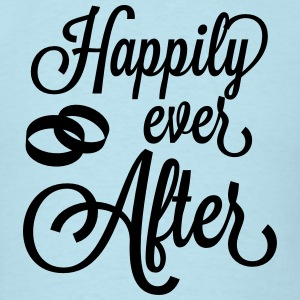 Happily Ever After T-Shirts - Men's T-Shirt