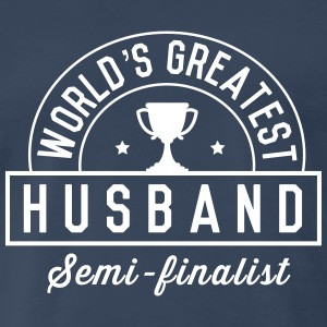 World's Greatest Husband. Semi-Finalist T-Shirts - Men's Premium T-Shirt