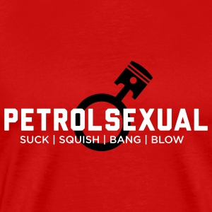 Petrol Sexual Shirt - Custom Colors - Men's Premium T-Shirt