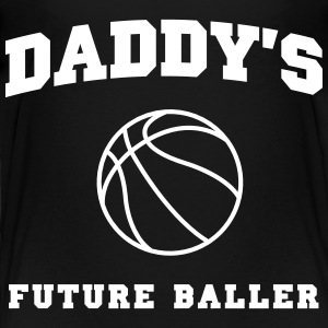 Daddy's Future Baller Baby & Toddler Shirts - Toddler Premium T-Shirt