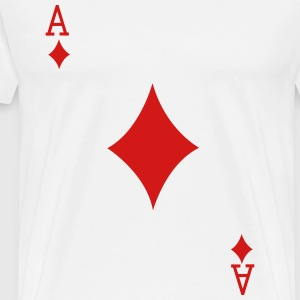 Ace Playing Card T-Shirts - Men's Premium T-Shirt